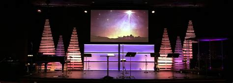 christmas stage decorations designs church stage design ideas