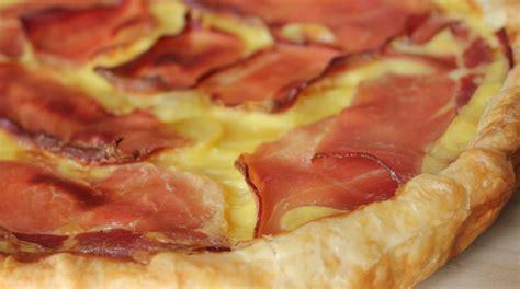 recette tarte pommes de terre cancoillotte jambon cru