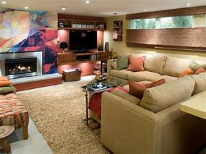 Basement Makeover Idea Candice Olson Decorating Design Idea Interior Room Hgtv Basement Design Ideas For Family Room