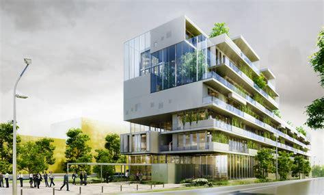 immeuble de bureaux facea references construction d 39 un immeuble de bureaux