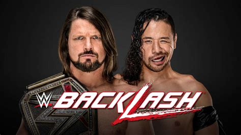 We did not find results for: WWE Backlash 2018 Match Card: Roman Reigns, AJ Styles ...