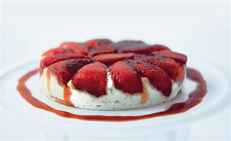 ducasse cours de cuisine tian aux fraises par l 39 école de cuisine alain ducasse