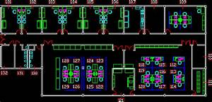 Office Module 2D DWG Plan for AutoCAD • Designs CAD