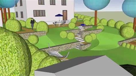 hanggarten mit mauern youtube