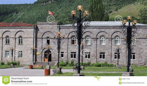 goris town stock photo image
