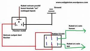 Cara Mudah Membuat Lampu Hazard    Flasher Pada Motor