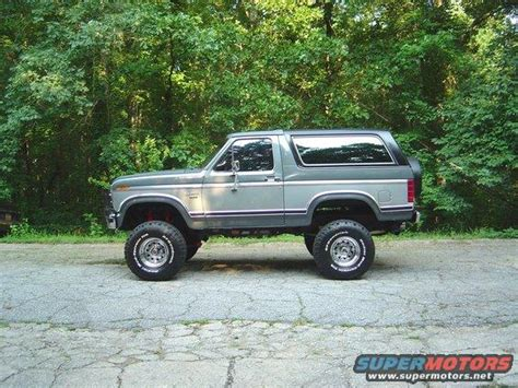 Ford Bronco Lift Kit by 1986 Ford Bronco 6 Quot Lift Kit Picture Supermotors Net