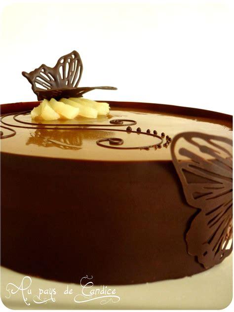 bavarois chocolat poires caramel au beurre sale au