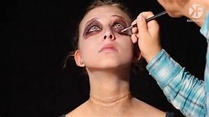 Schminken Zu Halloween : schminken zu halloween highschool zombie make up leicht gemacht by youtube ~ Frokenaadalensverden.com Haus und Dekorationen