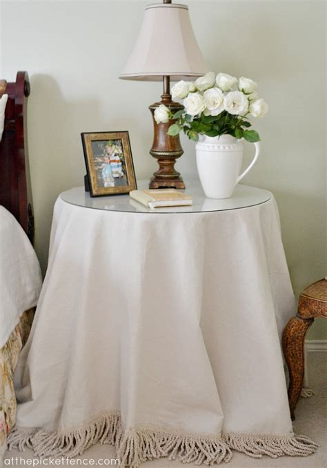 Bedroom Table Skirts by Glass Side Tables For Bedroom Grass Skirt Tablecloth
