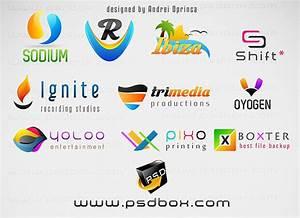 10 Fresh Multi Purpose PSD Logos