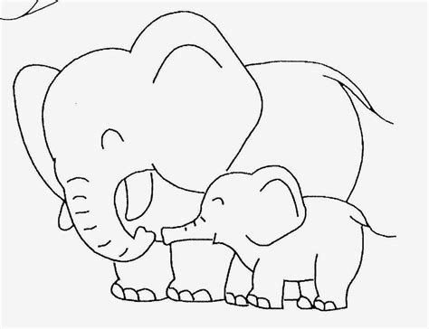 Baby Elephant Template Baby Elephant Coloring Pictures