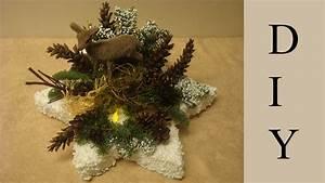 Weihnachtsdeko Basteln Für Den Tisch : adventsgesteck und weihnachtsdekoration mit einem led licht dekorieren youtube ~ Whattoseeinmadrid.com Haus und Dekorationen