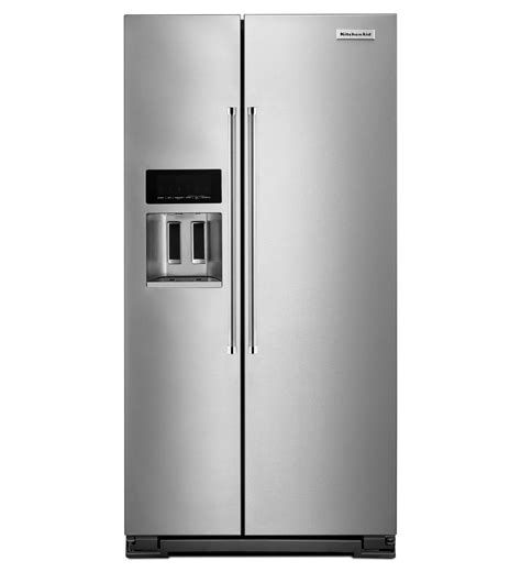 counter depth refrigerator dimensions kitchenaid krsc503ess kitchenaid counter depth side by side refrigerator