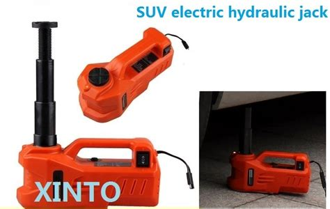 3ton 12v Horizontal Type Electric Hydraulic Jack Portable