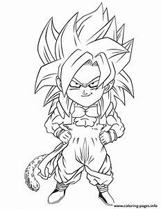 Dragon Ball Z Gogeta Coloring Page Coloring Pages Printable