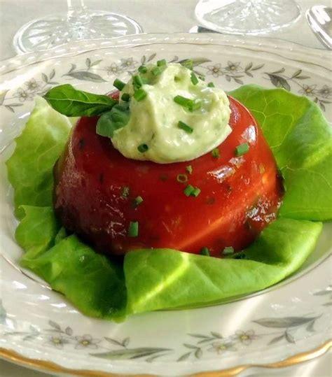 aspic cuisine tomato aspic southern favorite recipes