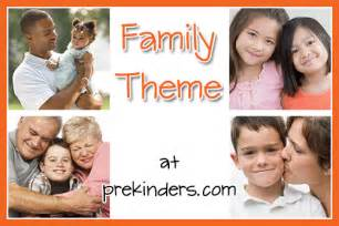 families activities and lesson plans for pre k and preschool prekinders