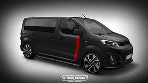 Peugeot Traveller : peugeot traveller citroen spacetourer toyota proace rendered as hot vans carscoops ~ Gottalentnigeria.com Avis de Voitures