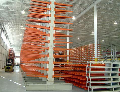 sheet metal storage system manufacturer rack shelves coil skid canrack storage systems