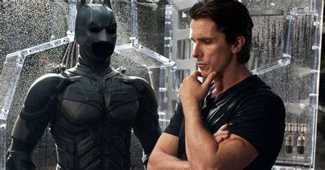 Christian Bale Reflects Dark Knight What Batman