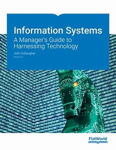 Solution Manual For Information Systems  A Manager U0026 39 S Guide