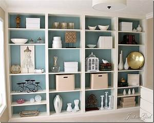 Den Project: Built In Billy Bookcase Ideas - Southern