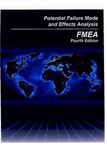 Aiag  U2013 Fmea Reference Manual  U2013 4th Edition Wersja