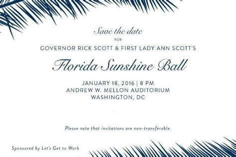 Governor Rick Scott To Host Florida Sunshine Ball At Trump