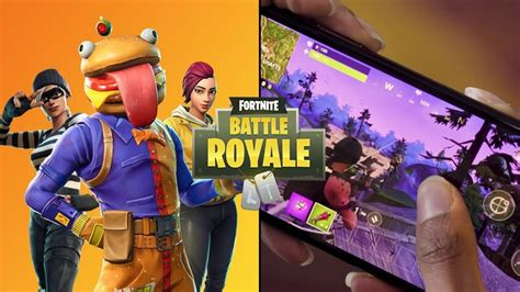 epic games releases development update  fortnite mobile