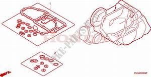 Gasket Kit B For Honda Innova 125 2005   Honda Motorcycles