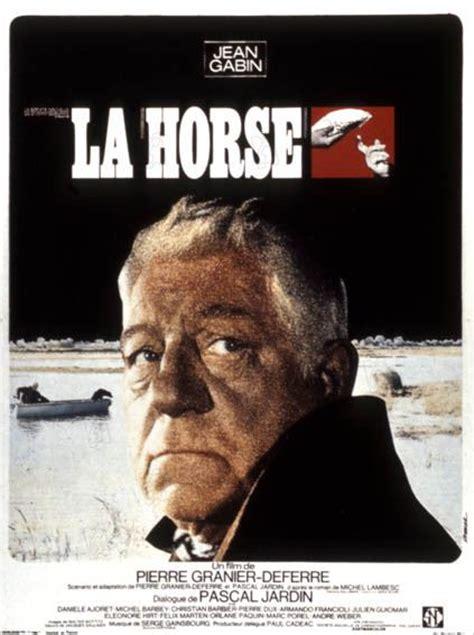 youtube jean gabin film complet la horse la horse affiche jean gabin pierre granier deferre