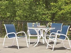 Telescope Casual Gardenella Sling Aluminum Dining Set