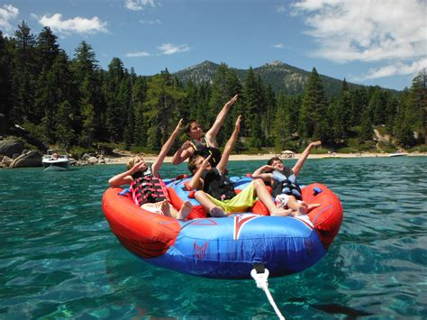 Boat Rentals With Tubing Near Me by Lake Tahoe Boat Rental Tours And Water Sports
