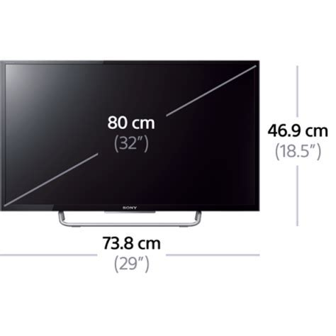 Sony KDL 32W700 32 inch Full HD Internet Multi System LED