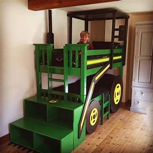 Build your kids a tractor bunk bed Bed for Kids, Bedroom
