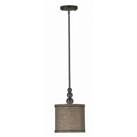 kenroy home margot 1 light rubbed bronze mini pendant