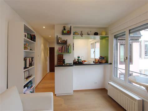 cr馥r une cuisine ouverte amenager petit salon avec cuisine ouverte maison design bahbe com