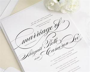 beautiful wedding invitation in black and white with With wedding invitations with photo upload