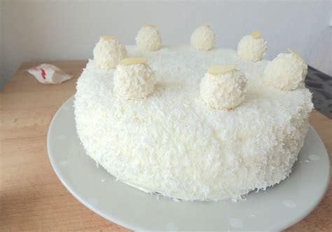 raffaello cake g 226 teau raffaello la cuisine de micheline