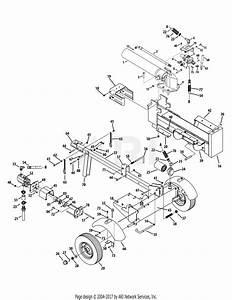 Troy Bilt 24bg57m3066 Log Splitter  2011   Ls27 24bg57m3066  2011  Parts Diagram For Tb27