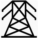 Pole Electric Power Line Tower Electricity Icon