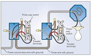 Wire A Three Way Switch Wiring Diagram