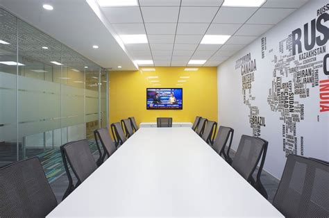 Small Modern Office Design of IIFL Offices – Pune
