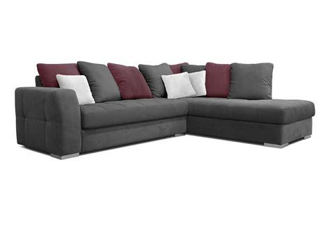 canapé d angle avec coussin acheter votre canapé d 39 angle coussins jetés gris blanc et