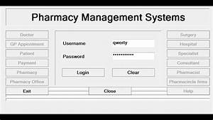How To Create Pharmacy Management System In C