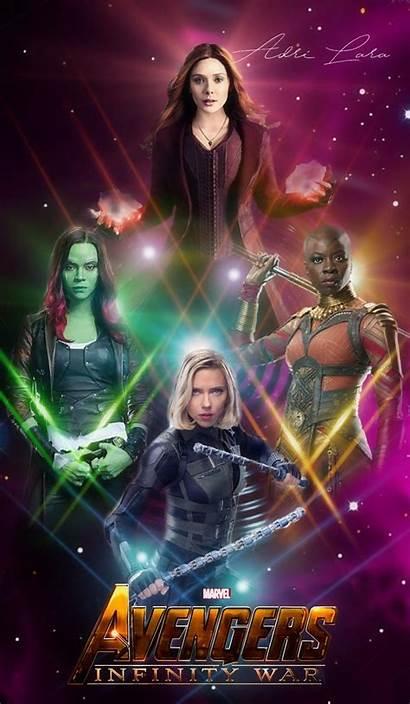 Avengers Female Widow Marvel Wallpapers Wanda Vision