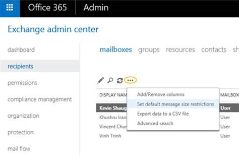 Office 365 Outlook Attachment Size Limit by Office 365 Now Supports Larger Email Messages Up To 150 Mb