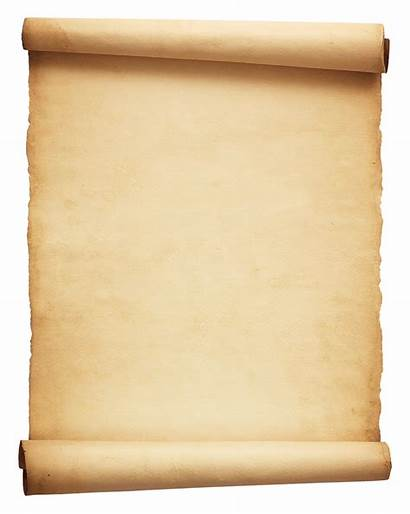 Scroll Paper Transparent Parchment Roll Papyrus Wall
