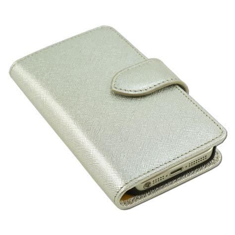 silver aspen silver aspen wallet case for apple iphone 5 5s limited run